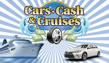 Cars, Cash & Cruises