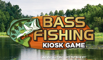 Bass Fishing Kiosk Game
