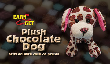 EARN-N-GET Chocolate Dog