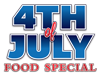 4th of July Food Special