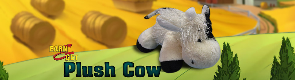 Earn-N-Get Plush Cow