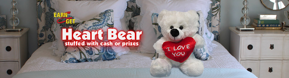 Earn-N-Get Heart Bear