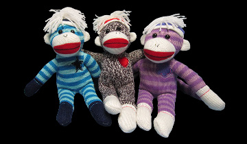 Earn-N-Get Sock Monkeys