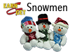 Earn-N-Get Plush Snowmen