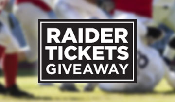 Raider Ticket Giveaway