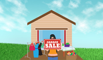 Earn & Get Garage Sale