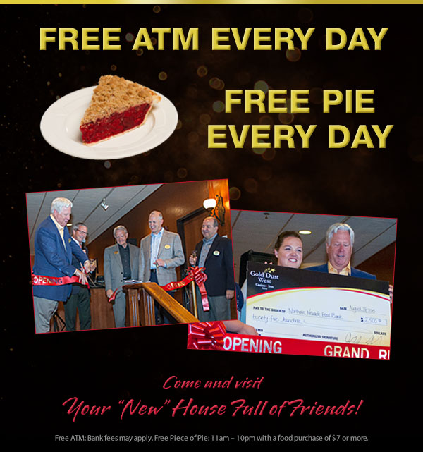 Free ATM - Free Pie Every day