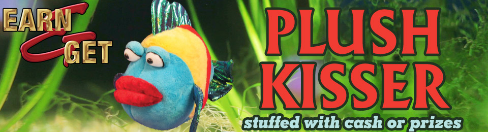 Earn & Get Kisser Fish