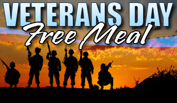 Veterans Day Free Meal