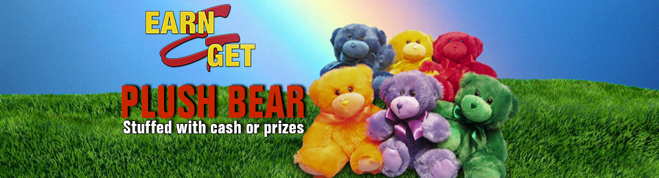 Earn-N-Get Plush Bears
